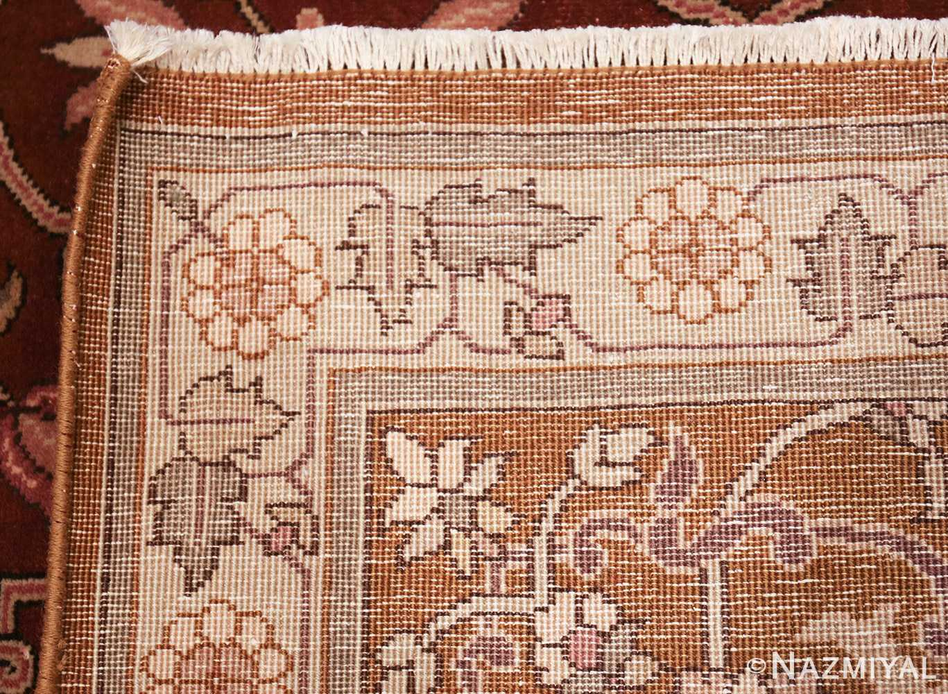 vintage room size indian rug 49477 weave Nazmiyal