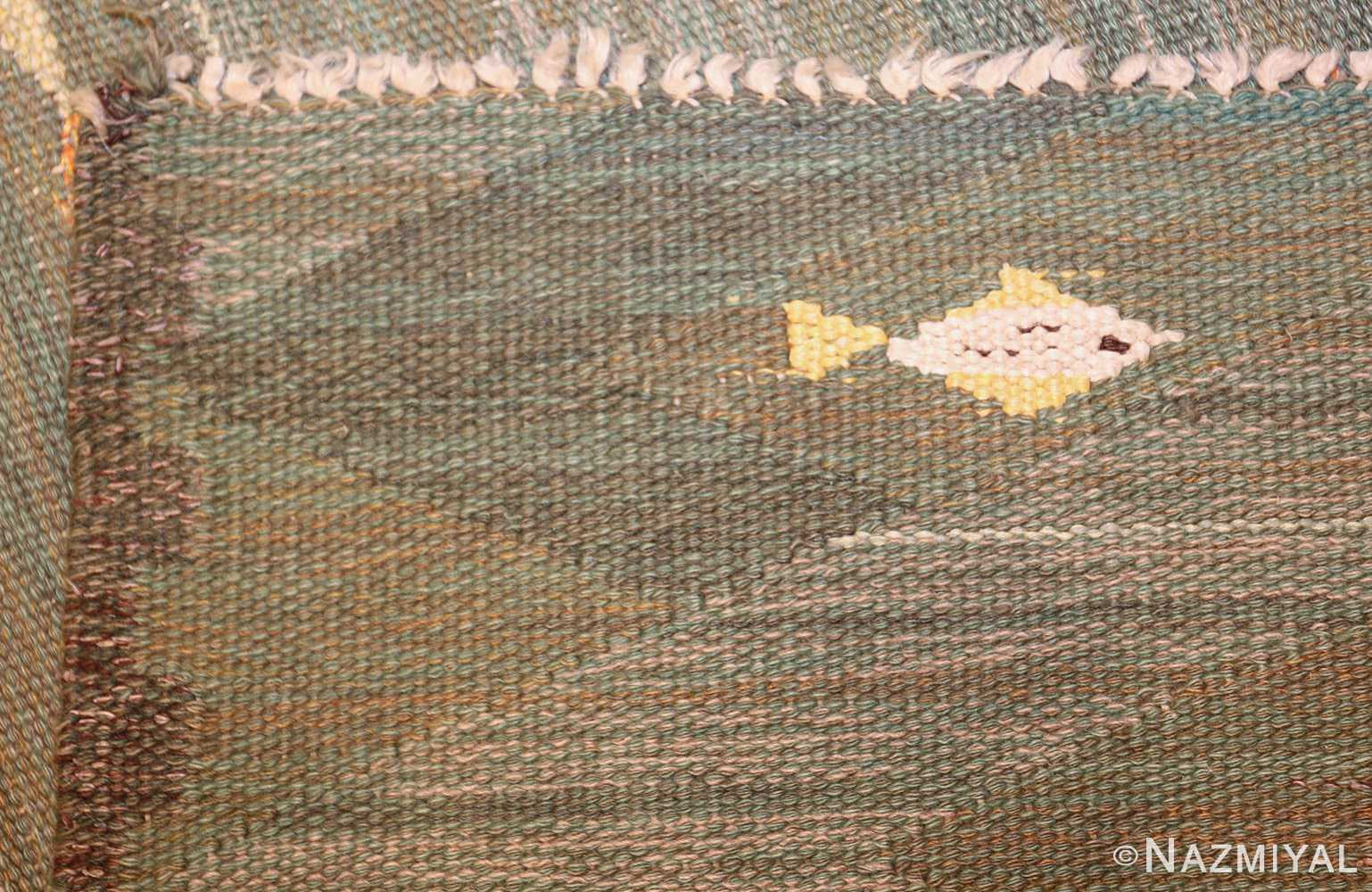 vintage scandinavian rug possibly by elsa gullberg 49504 weave Nazmiyal