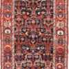 antique tribal Persian Bakhtiari runner rug 49555 Nazmiyal
