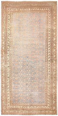 Large Pomegranate Design Antique Khotan Rug by Nazmiyal