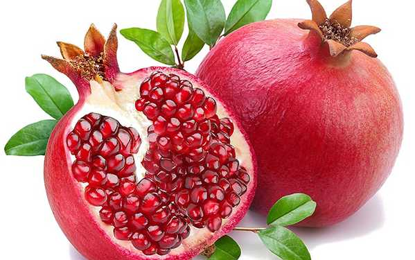 Picture of the Pomegranate Fruit and Seeds by Nazmiyal