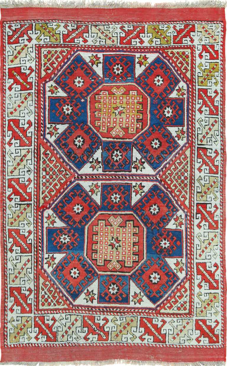 Antique Turkish Bergama Rug 49506 Nazmiyal