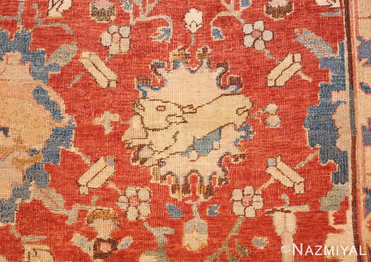 17th century hunting scene oversize isfahan persian rug 3025 cub Nazmiyal