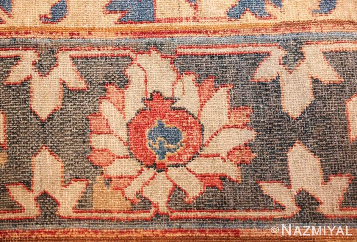 17th century hunting scene oversize isfahan persian rug 3025 flower Nazmiyal