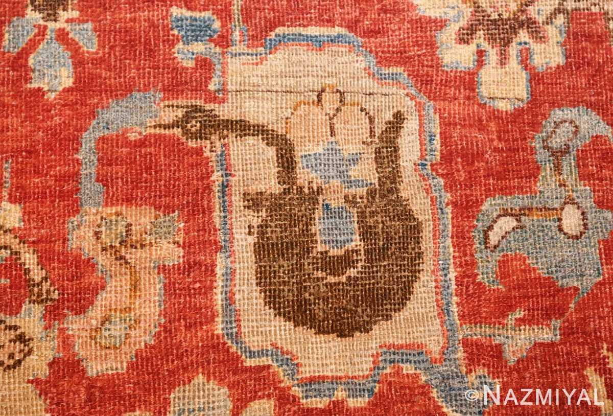 17th century hunting scene oversize isfahan persian rug 3025 swan Nazmiyal