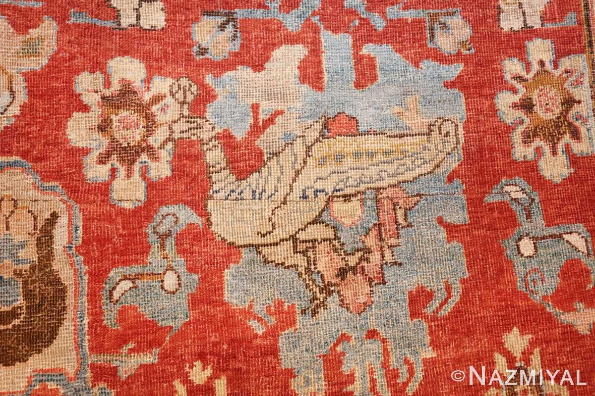 17th century hunting scene oversize isfahan persian rug 3025 turkey Nazmiyal