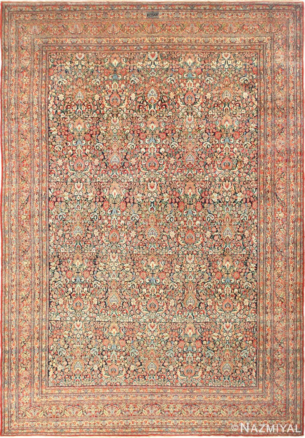 Antique Persian Khorassan Rug 49517 Nazmiyal