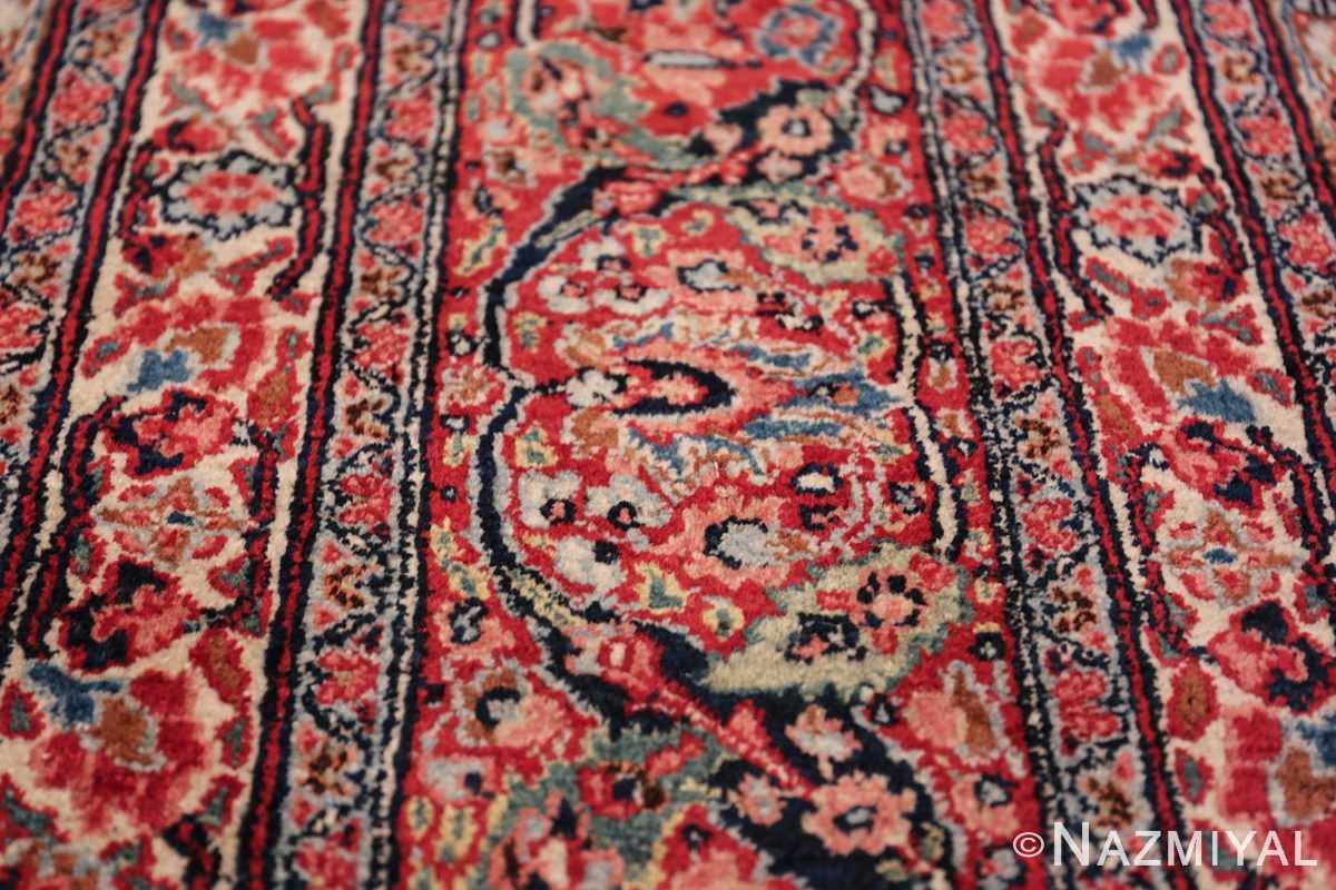 antique large khorassan persian rug 49517 blue Nazmiyal