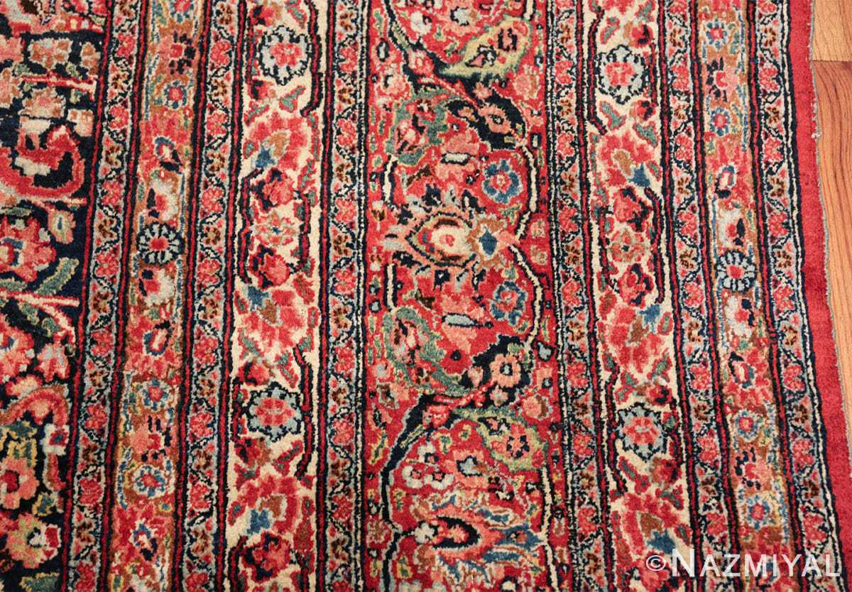 antique large khorassan persian rug 49517 border Nazmiyal