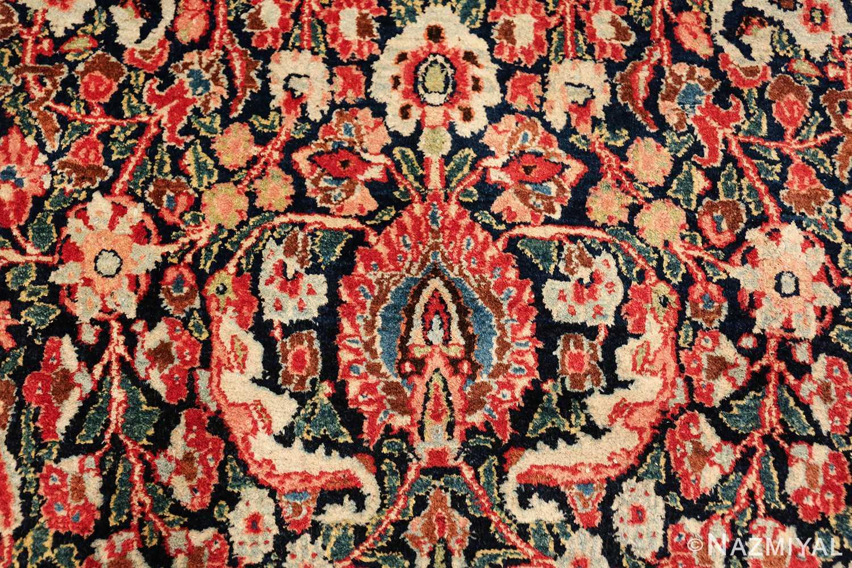 antique large khorassan persian rug 49517 closeup Nazmiyal