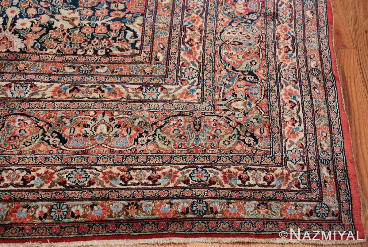 antique large khorassan persian rug 49517 corner Nazmiyal