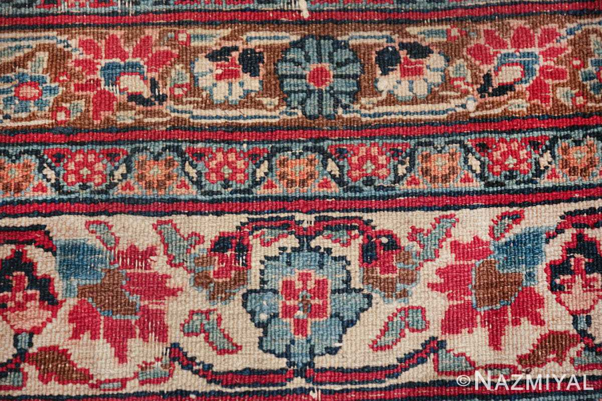 antique large khorassan persian rug 49517 knots Nazmiyal