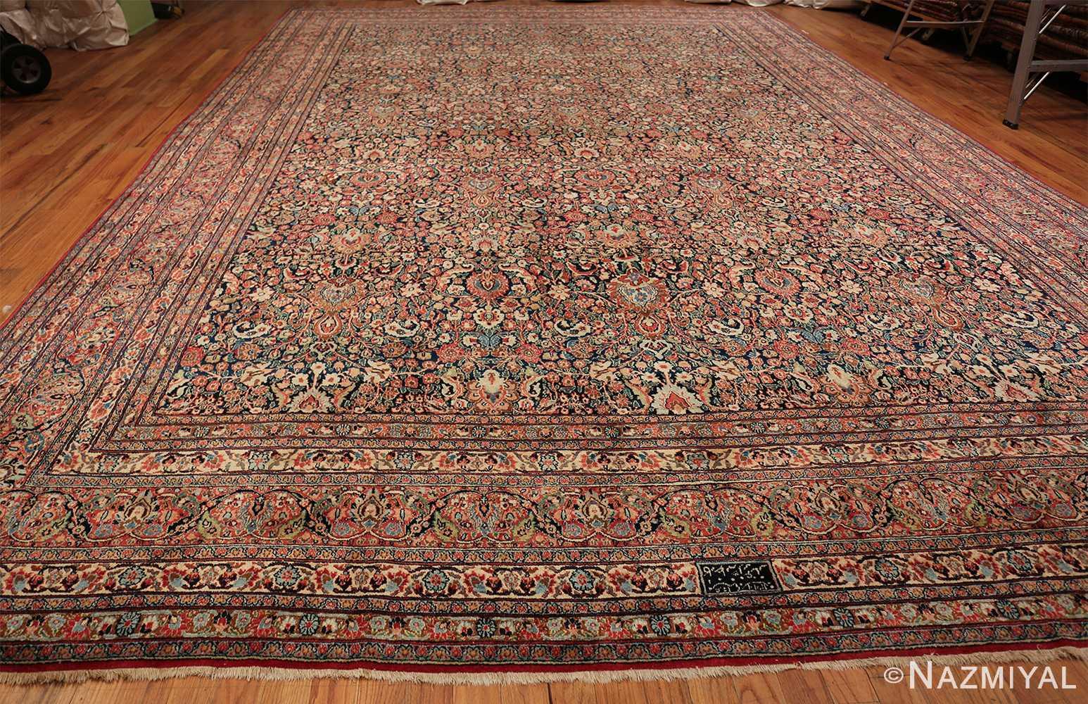 antique large khorassan persian rug 49517 whole Nazmiyal