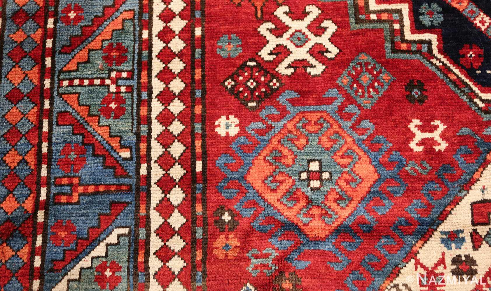 antique lori pemback design kazak caucasian rug 49509 design Nazmiyal