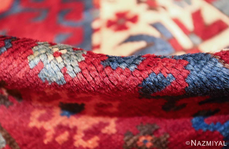antique lori pemback design kazak caucasian rug 49509 pile Nazmiyal