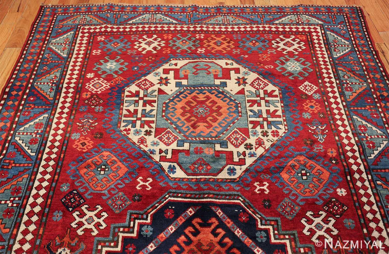 antique lori pemback design kazak caucasian rug 49509 top Nazmiyal
