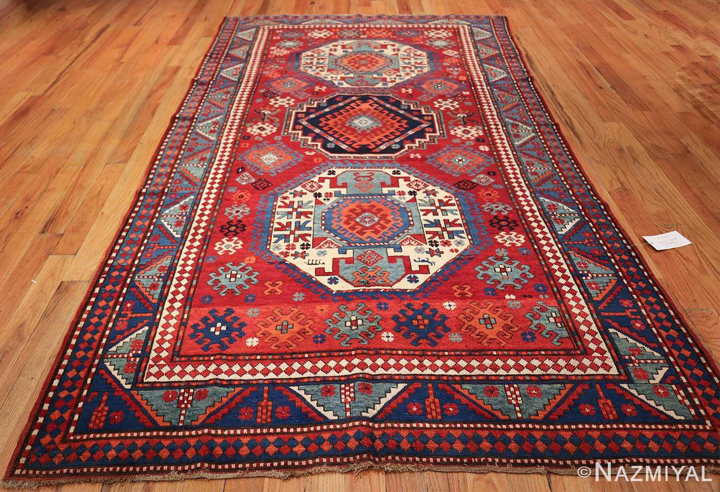 antique lori pemback design kazak caucasian rug 49509 whole Nazmiyal
