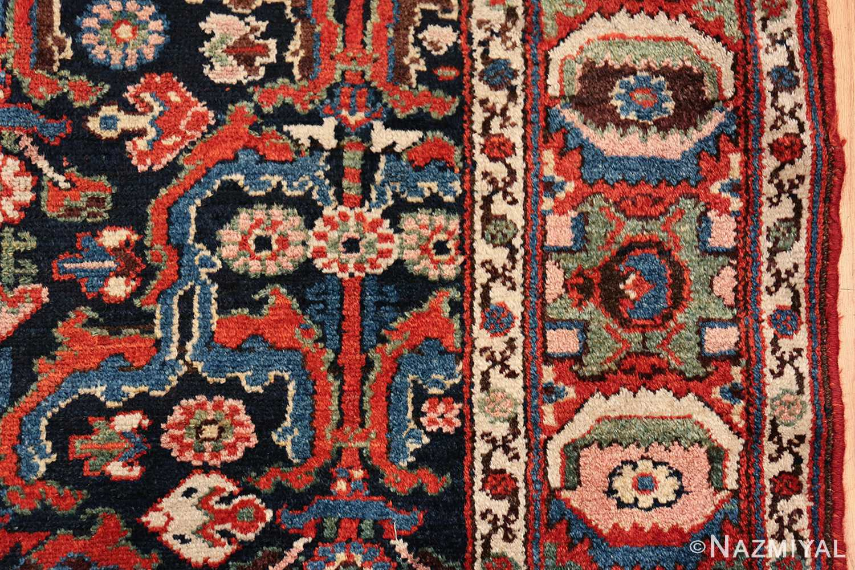 antique tribal bakhtiari persian runner rug 49555 border Nazmiyal