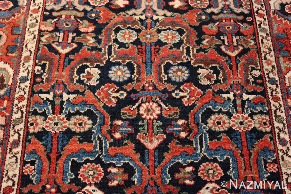 antique tribal bakhtiari persian runner rug 49555 design Nazmiyal