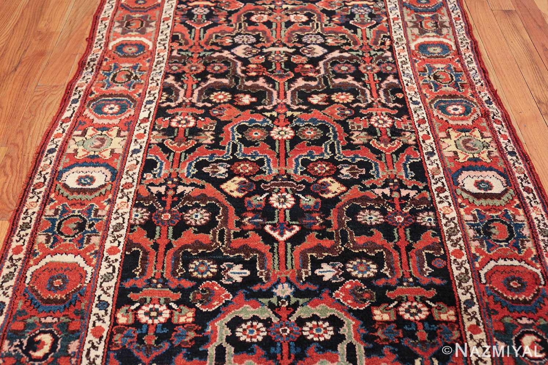 antique tribal bakhtiari persian runner rug 49555 field Nazmiyal