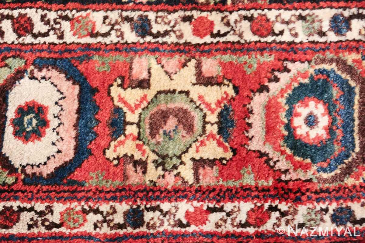 antique tribal bakhtiari persian runner rug 49555 galaxy Nazmiyal