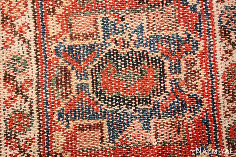 antique tribal bakhtiari persian runner rug 49555 knots Nazmiyal