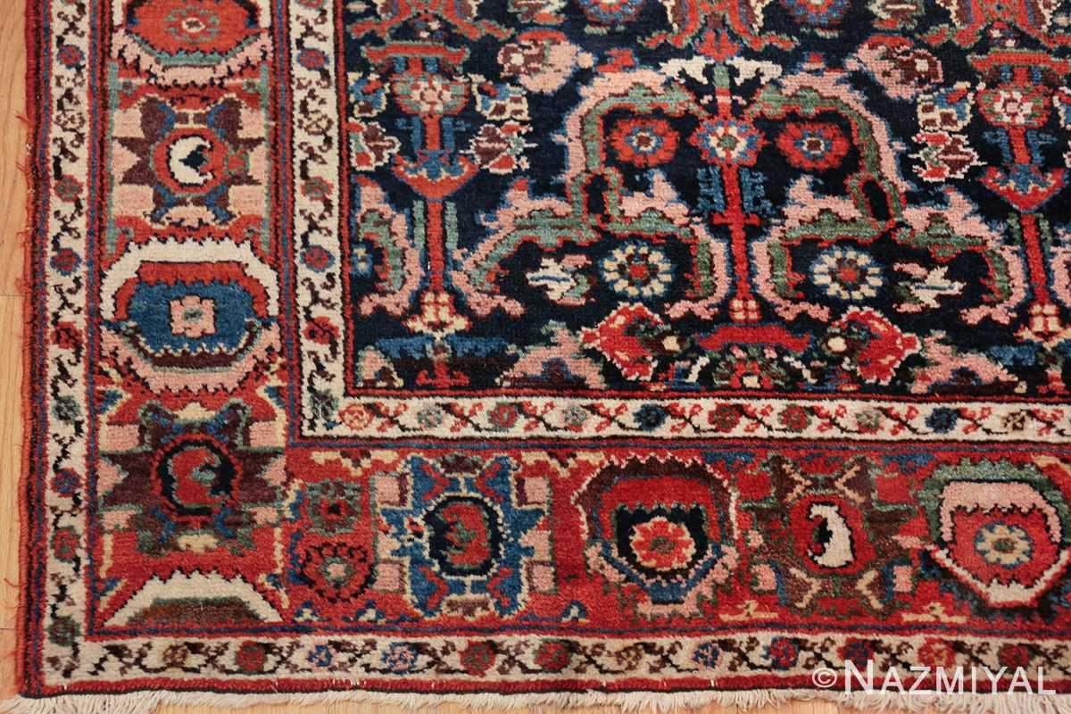 antique tribal bakhtiari persian runner rug 49555 side Nazmiyal