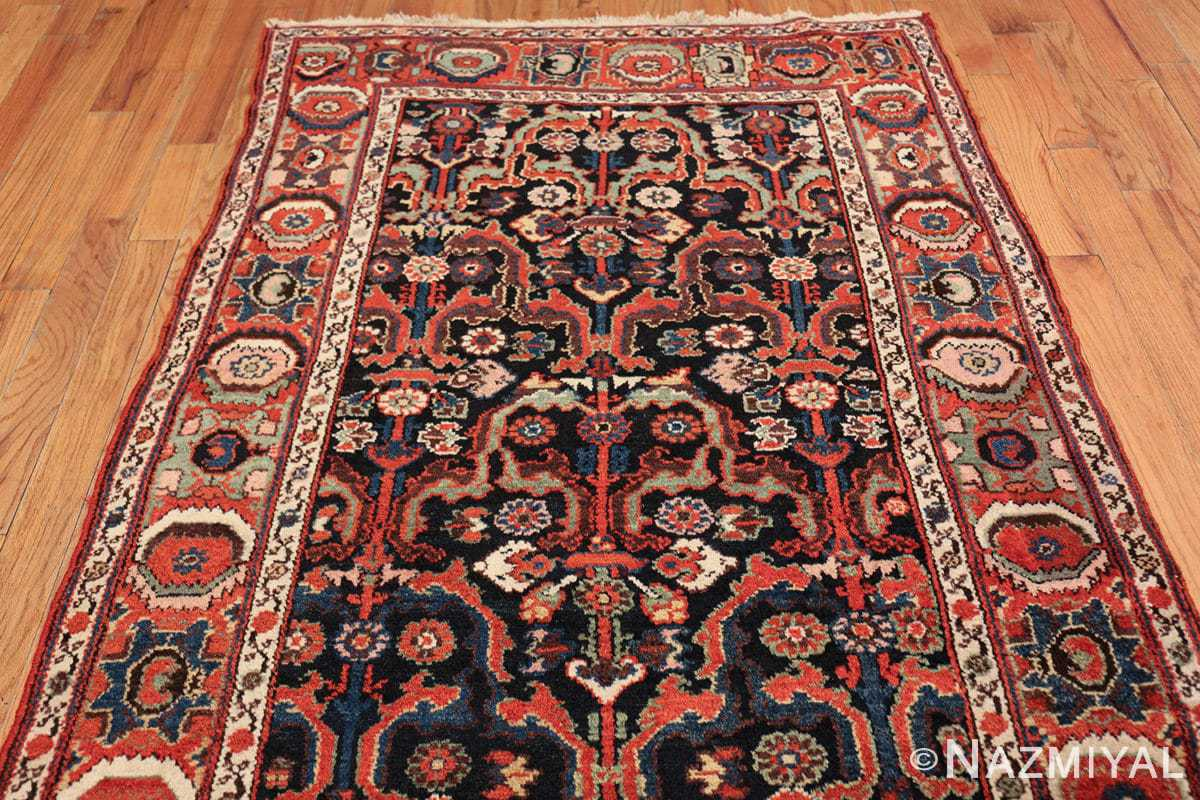 antique tribal bakhtiari persian runner rug 49555 top Nazmiyal