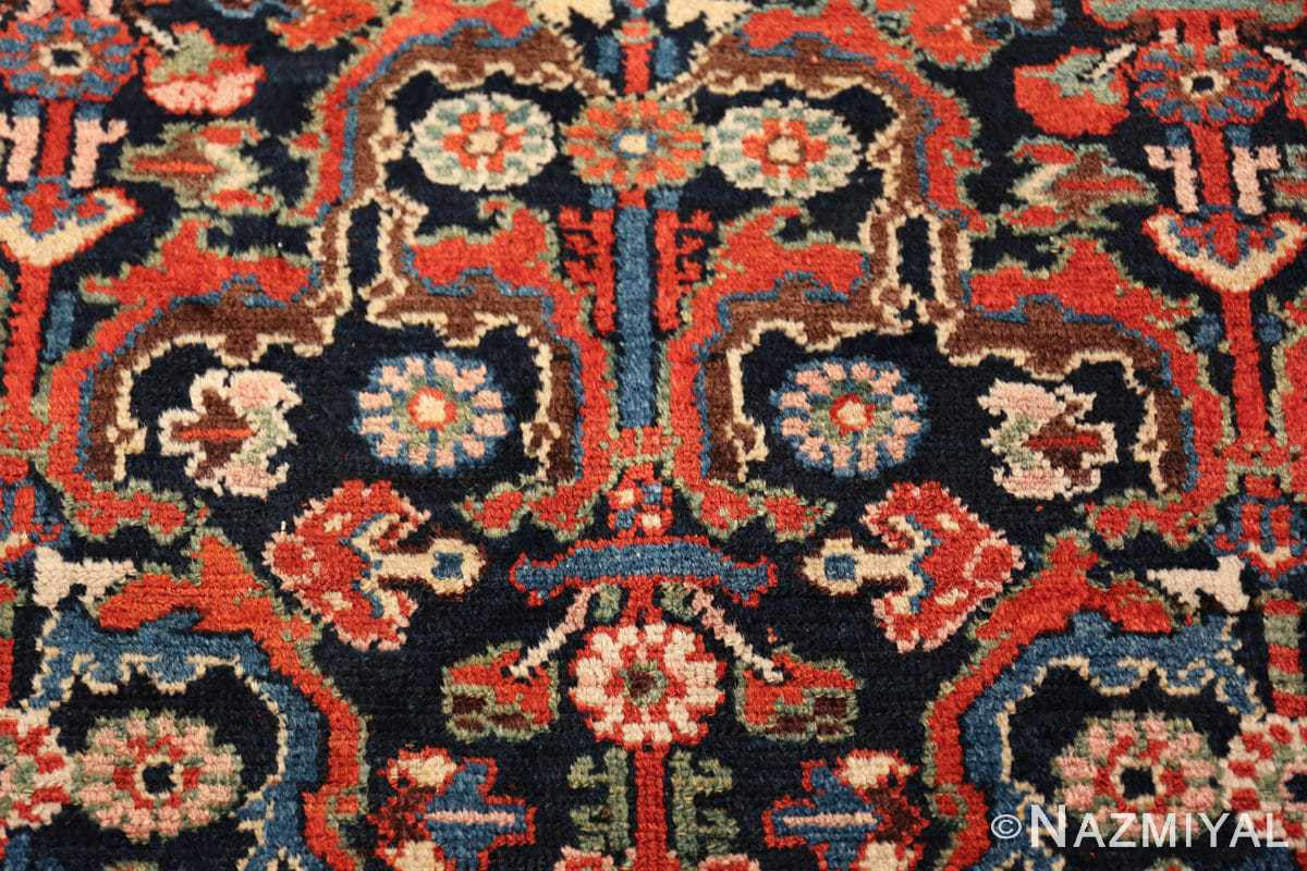 antique tribal bakhtiari persian runner rug 49555 vase Nazmiyal