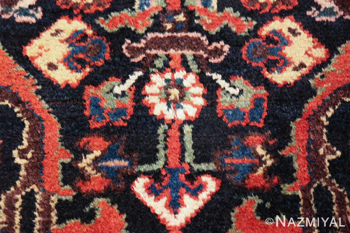 antique tribal bakhtiari persian runner rug 49555 white Nazmiyal