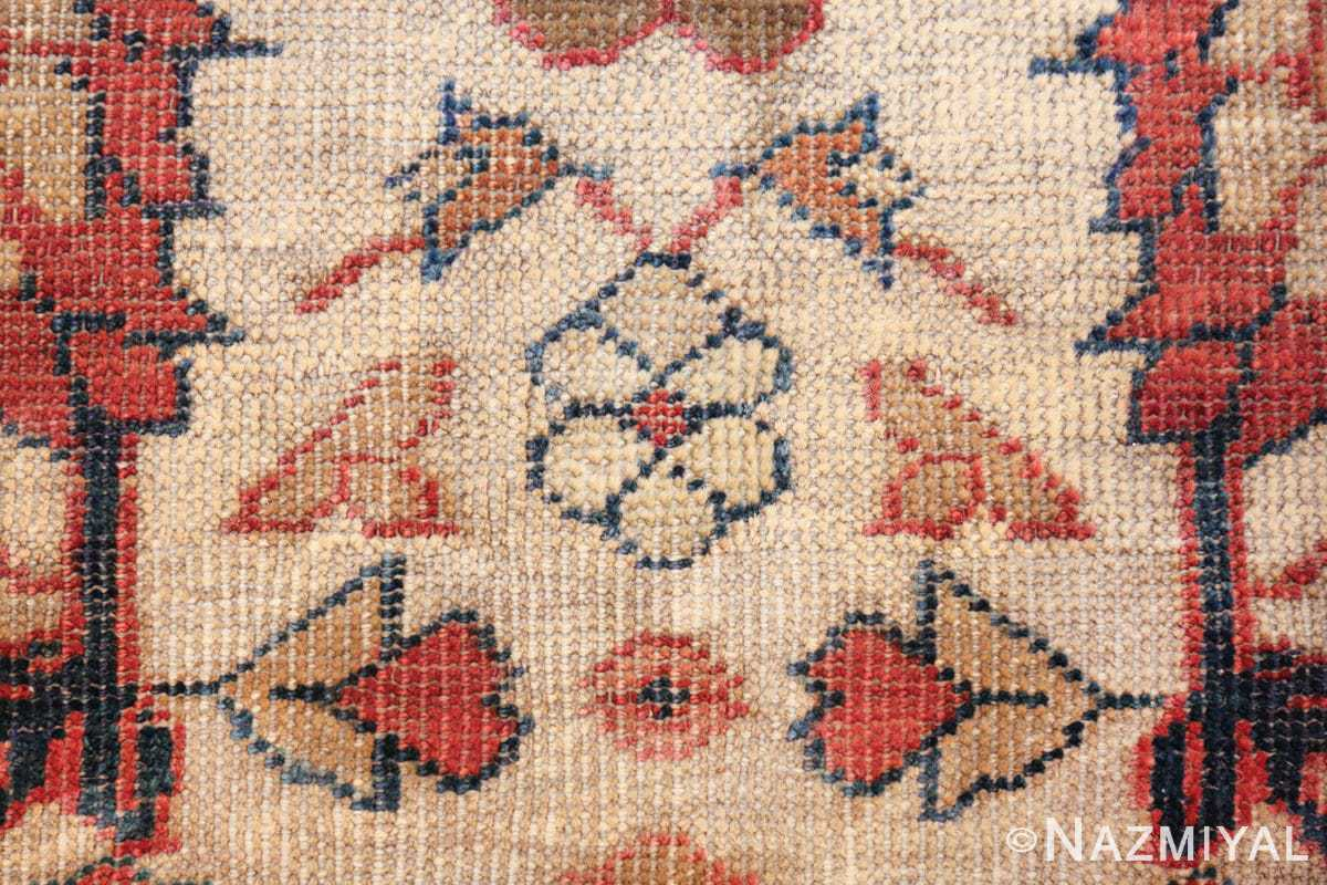 ivory background antique sultanabad persian rug 49467 ivory Nazmiyal
