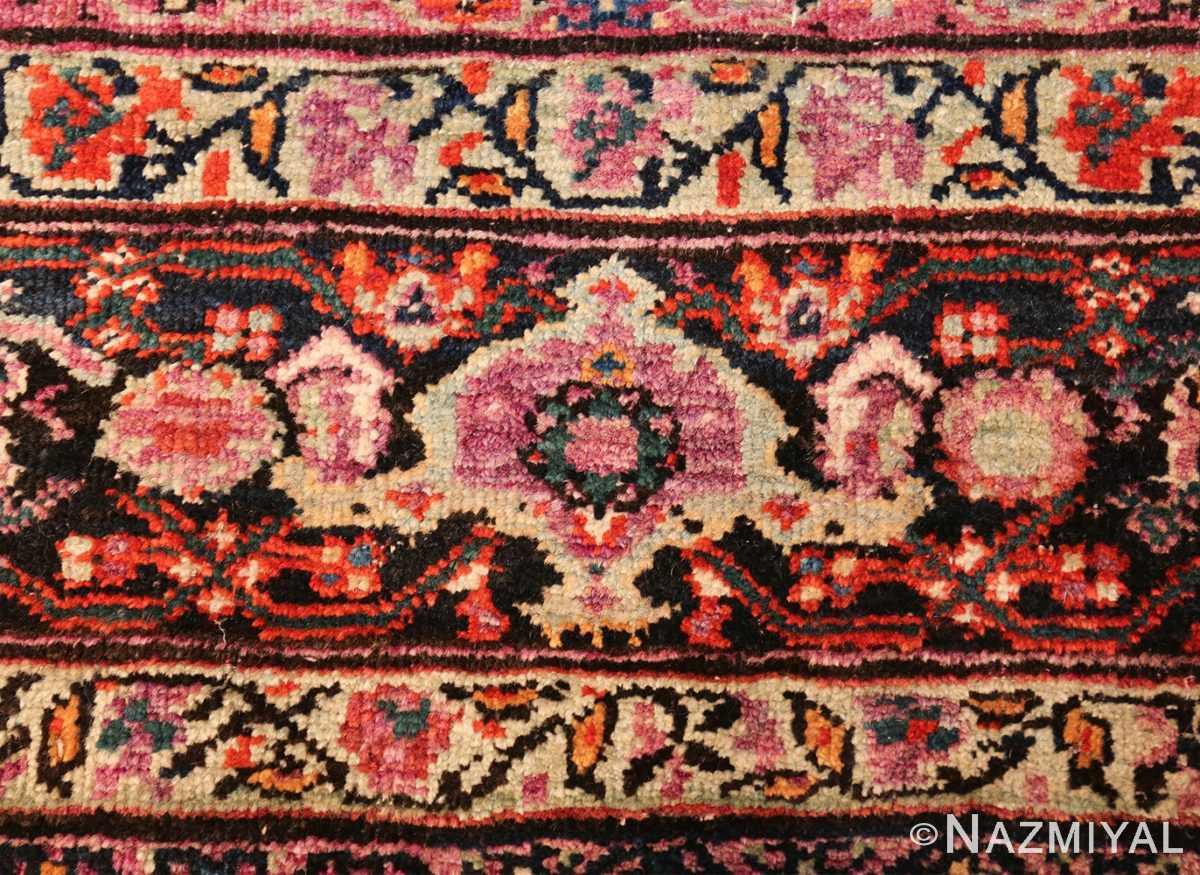 large animal motif antique farahan persian rug 49516 pink Nazmiyal
