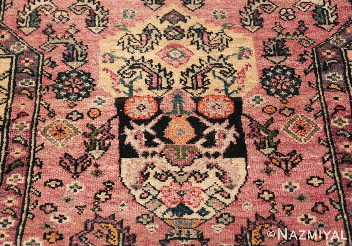 large animal motif antique farahan persian rug 49516 vase Nazmiyal