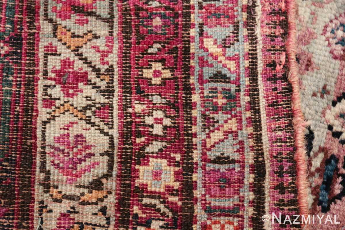 large animal motif antique farahan persian rug 49516 weave Nazmiyal