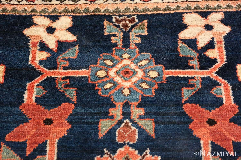 navy antique malayer persian rug 49554 blue Nazmiyal