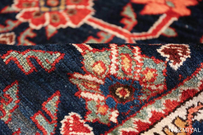 navy antique malayer persian rug 49554 pile Nazmiyal