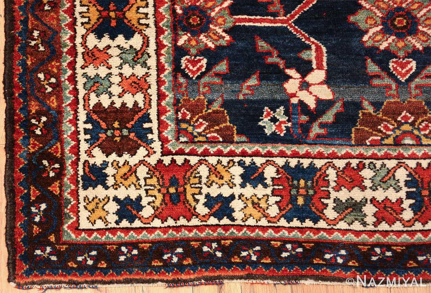 navy antique malayer persian rug 49554 side Nazmiyal
