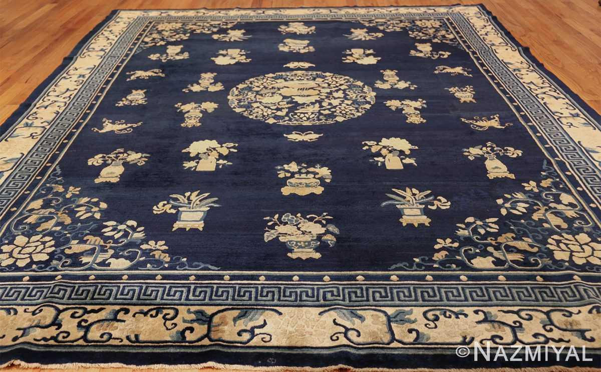 room size navy background antique chinese rug 49474 whole Nazmiyal