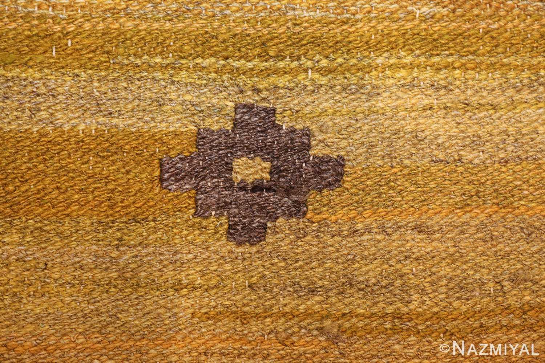 room size vintage scandinavian kilim rug 49269 closeup Nazmiyal