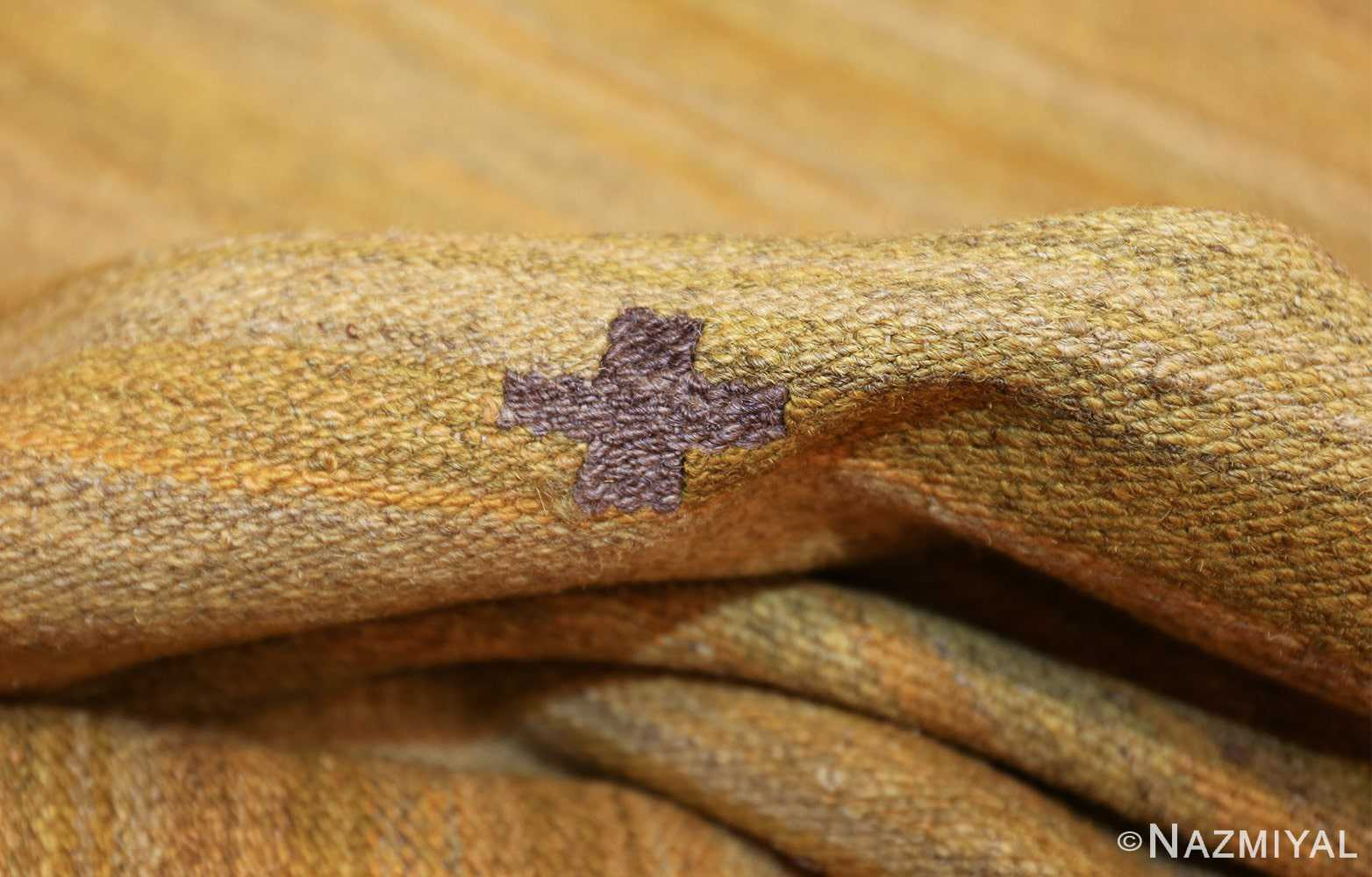 room size vintage scandinavian kilim rug 49269 pile Nazmiyal