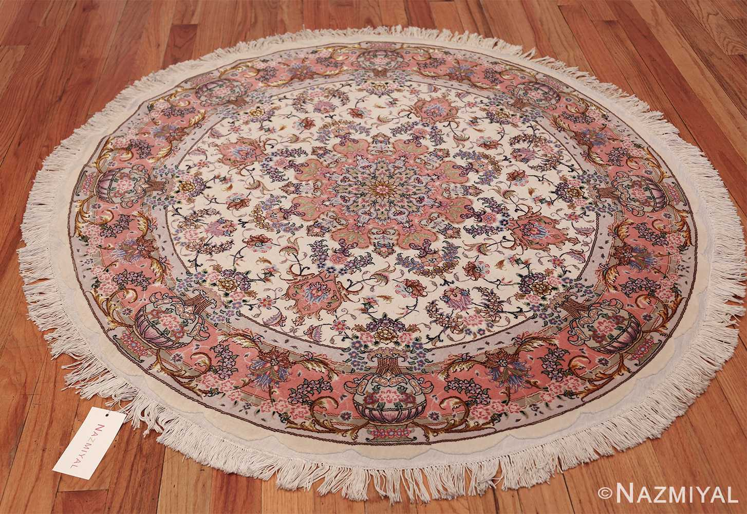 Wool Persian Tabriz Rug 49558 Nazmiyal Rugs