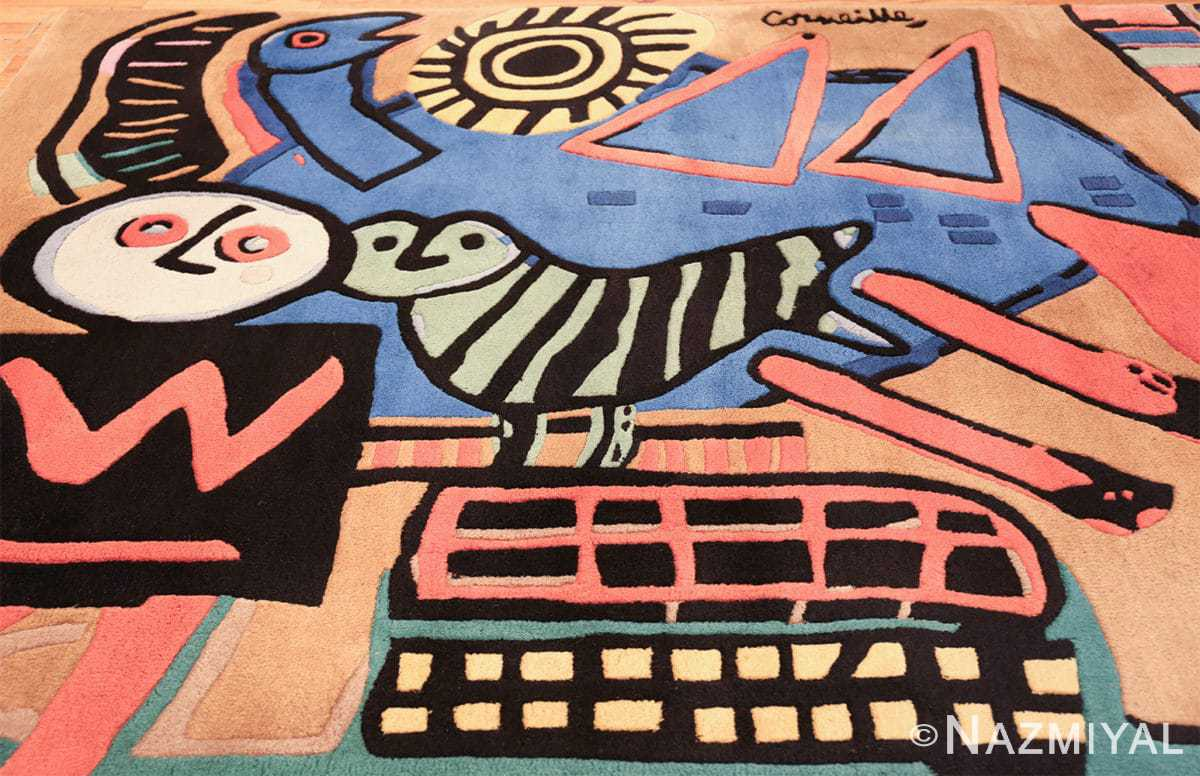 vintage scandinavian rug by corneille 49543 middle Nazmiyal
