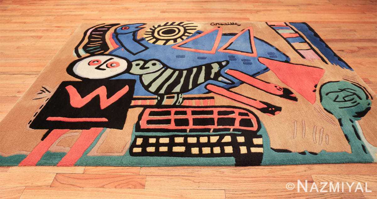 vintage scandinavian rug by corneille 49543 whole Nazmiyal