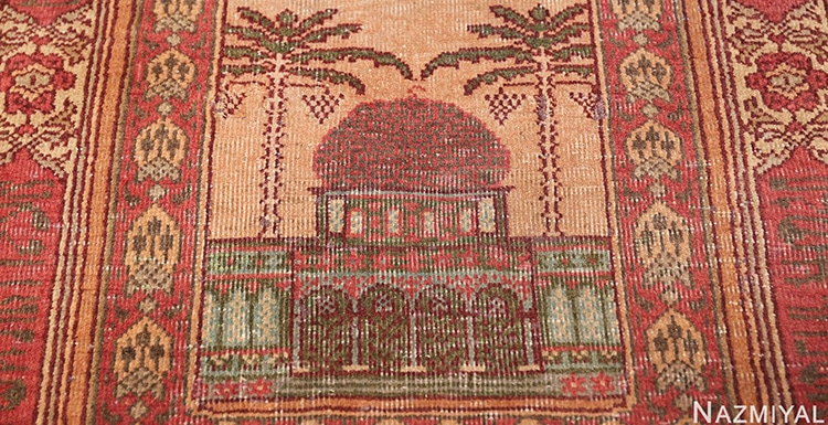 Antique Marbediah Dome Of The Rock Rug by nazmiyal