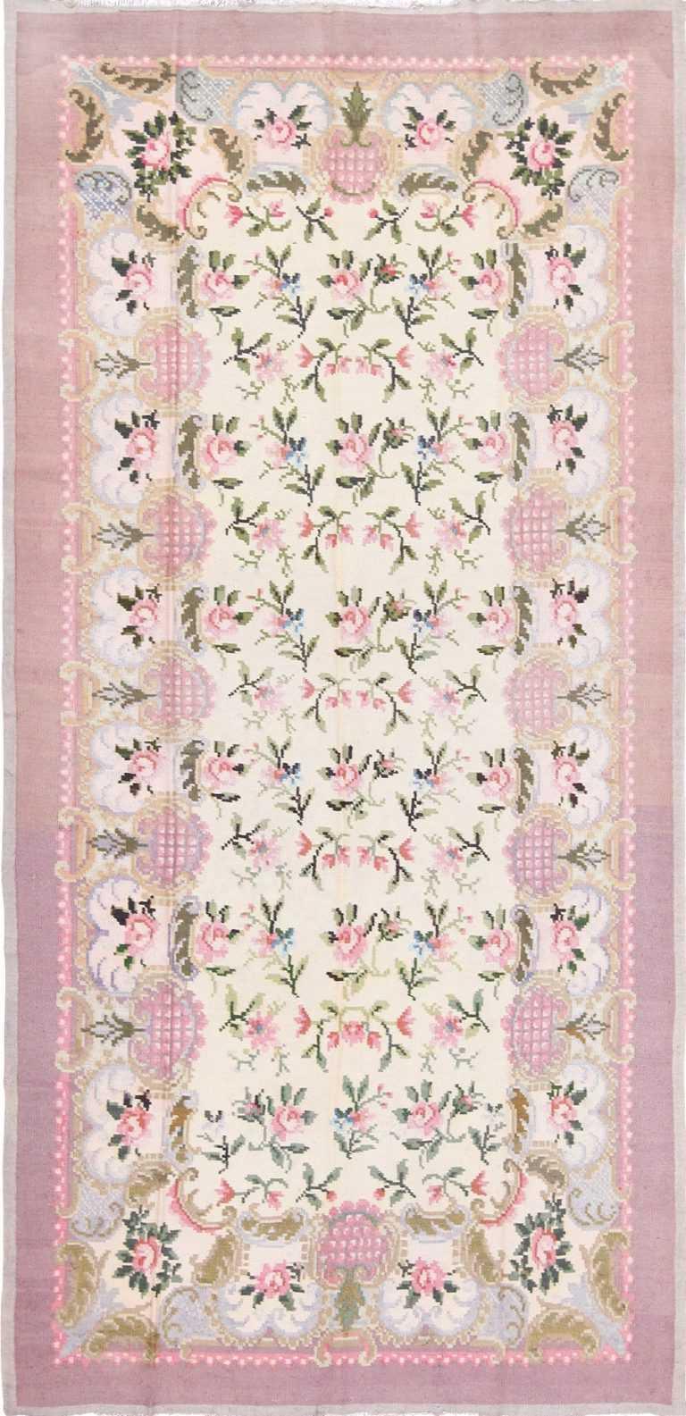 flat woven vintage romanian bessarabian kilim rug 50379 Nazmiyal
