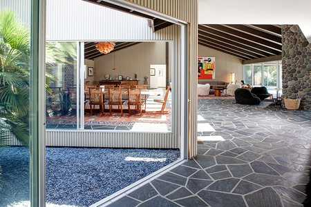 Modern Interior Design With Antique Persian Heriz Rugs by Nazmiyal