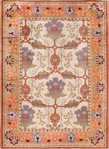 large gavin morton arts and crafts design irish donegal rug 49498 Nazmiyal