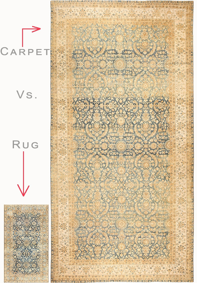 The Difference Between A Rug And Carpet