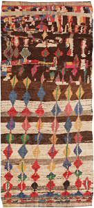 Vintage Boho Moroccan Azilal Rug by Nazmiyal