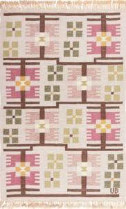 Vintage Boho Scandinavian Rug by Nazmiyal